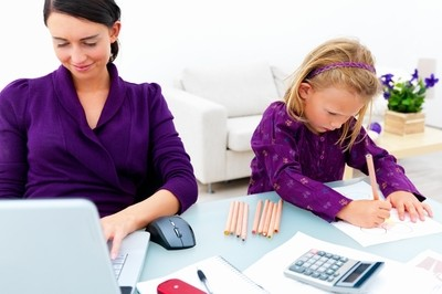 Mom's Home Office: Starting Your Own Business in the Basement